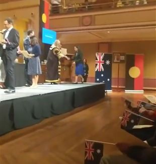 Australian Citizenship Ceremony (Photo B. O'Donnell)